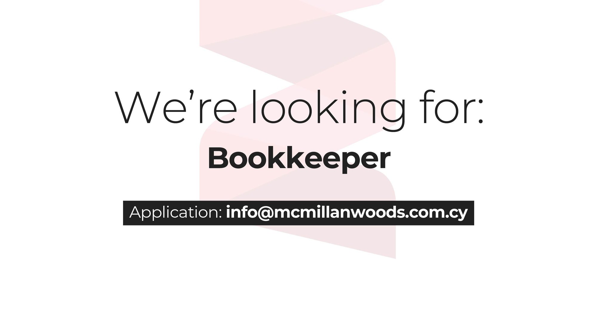 Bookkeeper Job Vacancy